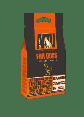 AATU Dog Food: Adult 80/20 Free Run Chicken 10kg