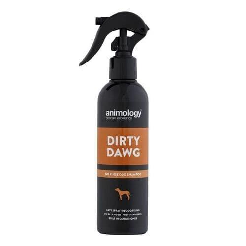 Animology Dirty Dawg No Rinse Shampoo 250ml