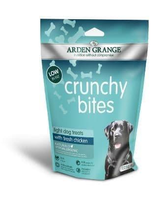 Arden Grange Crunchy Bites Light Chicken 225g