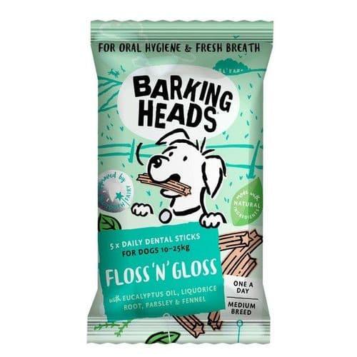 Barking Heads Floss & Gloss Medium Breed 5pk