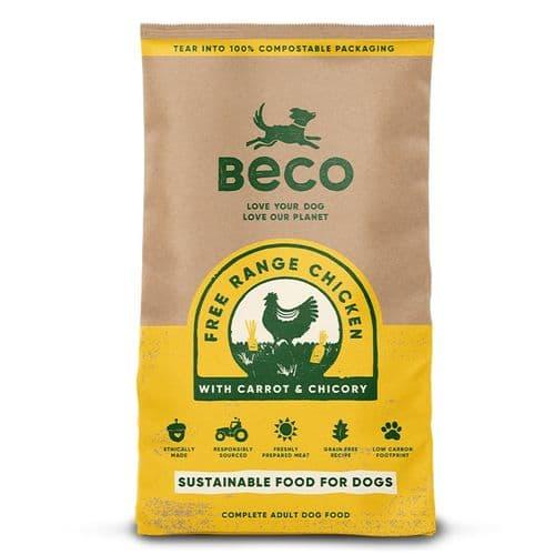 Beco Dry Dog Food: Adult Free Range British Chicken