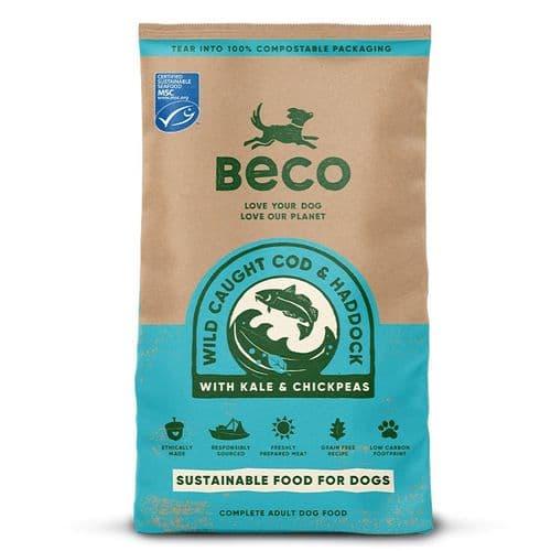 Beco Dry Dog Food: Adult MSC Certified Cod & Haddock