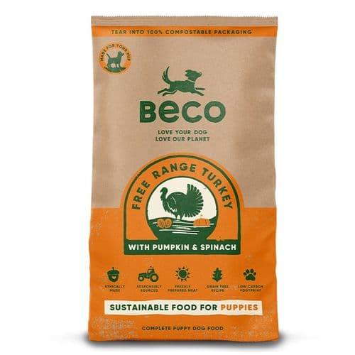Beco Dry Dog Food: Puppy Free Range Turkey