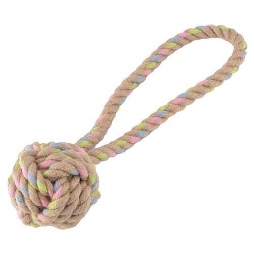 Beco Hemp Rope Ball on Loop