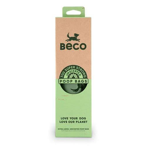 Beco Unscented Poop Bags Dispenser 300pk