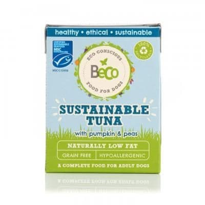 Beco Wet Dog Food: Sustainable Tuna 375g