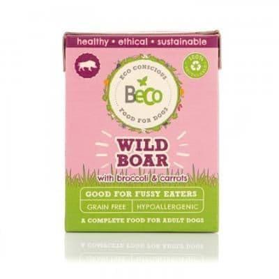 Beco Wet Dog Food: Wild Boar 375g
