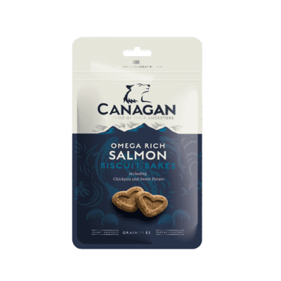 Canagan Dog Treats: Salmon Biscuit Bakes 150g