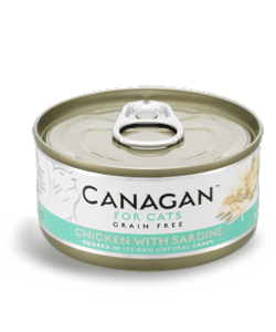 Canagan Wet Cat Food: Chicken with Sardine 12x75g