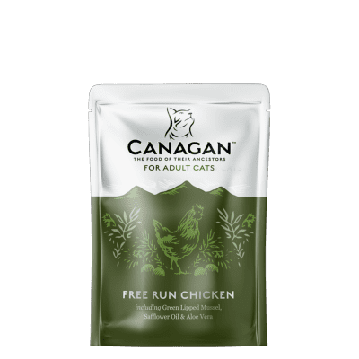 Canagan Wet Cat Food: Pouch Adult Free Run Chicken 8x85g