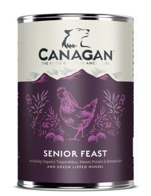Canagan Wet Dog Food: Senior Feast 6x400g