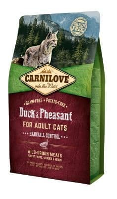 Carnilove Cat Food: Adult Duck & Pheasant