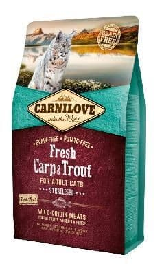 Carnilove Cat Food: Adult Fresh Carp & Trout