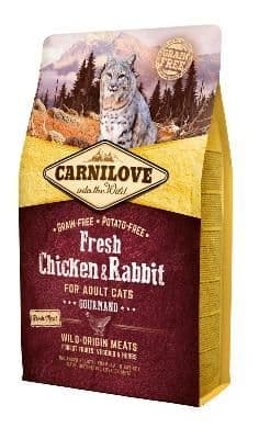 Carnilove Cat Food: Adult Fresh Chicken & Rabbit