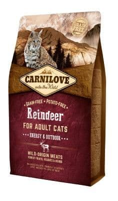 Carnilove Cat Food: Adult Reindeer
