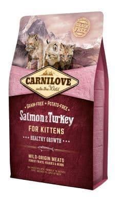 Carnilove Cat Food: Kitten Salmon & Turkey
