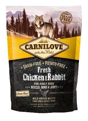 Carnilove Dog Food: Fresh Adult Chicken & Rabbit