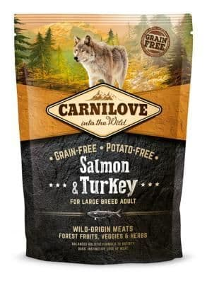 Carnilove Dog Food: Large Breed Adult Salmon & Turkey 12kg