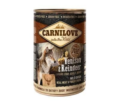 Carnilove Wet Dog Food: Adult Venison & Reindeer 6x400g