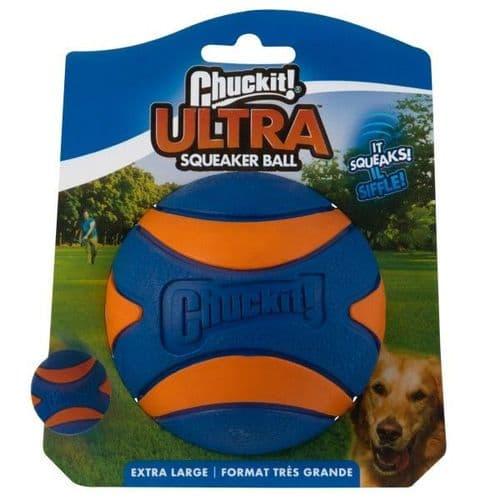 Chuckit! Ultra Squeaker Ball Extra Large Ball 1pk