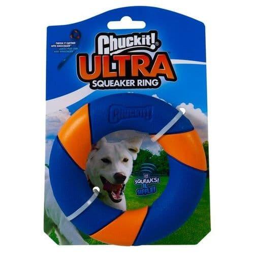 Chuckit! Ultra Squeaker Ring