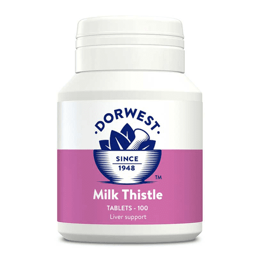 Dorwest Herbs Milk Thistle Tablets for Dogs & Cats