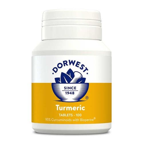 Dorwest Herbs Turmeric Tablets for Dogs & Cats