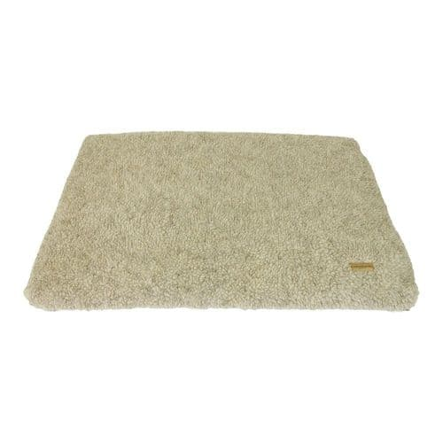 Earthbound Cage Mat Removable Sherpa Waterproof Beige