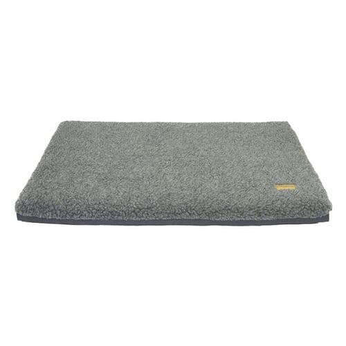 Earthbound Cage Mat Removable Sherpa Waterproof Grey