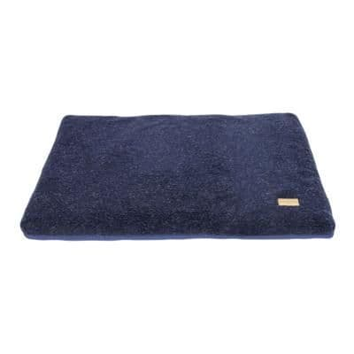 Earthbound Cage Mat Removable Sherpa Waterproof Navy