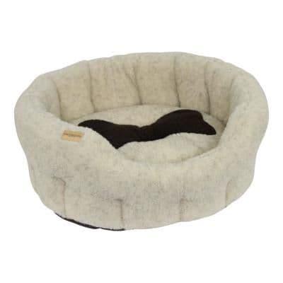 Earthbound Classic Sherpa Bone Bed Beige