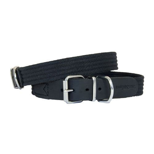 Earthbound Cotton Collar Black
