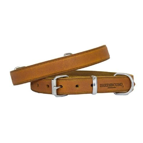 Earthbound Soft Country Leather Tan Collar