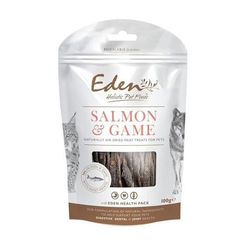 Eden Dog & Cat Treats Salmon with Game 100g
