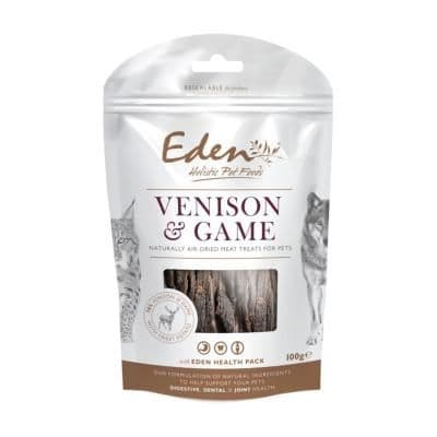 Eden Dog & Cat Treats Venison with Game 100g