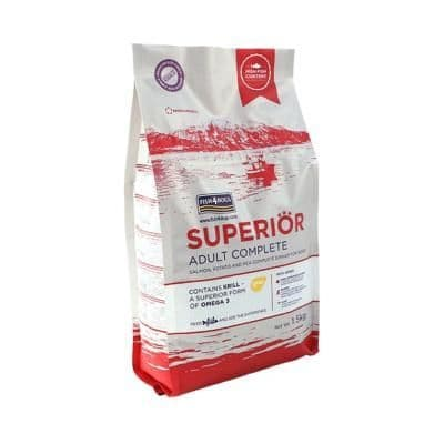Fish4Dogs Dog Food: Adult Superior Salmon Regular Bite 12kg