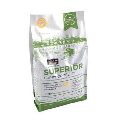 Fish4Dogs Dog Food: Puppy Superior Salmon Small Bite 12kg