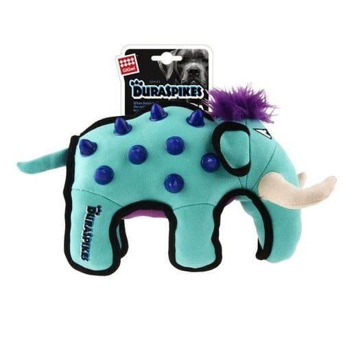 GiGwi Duraspikes Extra Durable Elephant Light Blue
