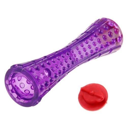 GiGwi Treat Dispenser Durable TPR Stick Purple