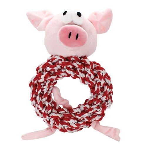 Happy Pet Knottie Ring Pig in Blankets