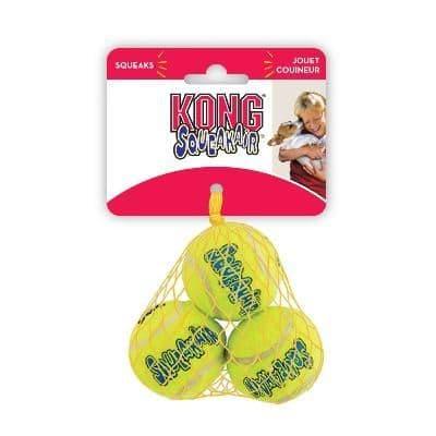 KONG AirDog Squeaker Ball Extra Small 3pk
