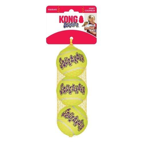KONG AirDog Squeaker Ball Medium 3pk