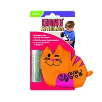 KONG Cat Refillables Purrsonality Sassy
