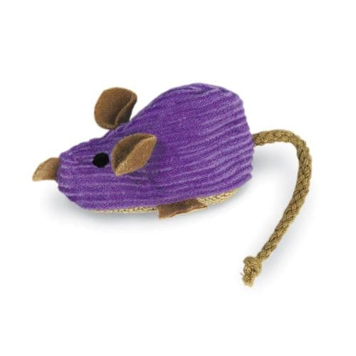 KONG Catnip Refillables Corduroy Mouse