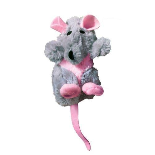 KONG Catnip Refillables Rat
