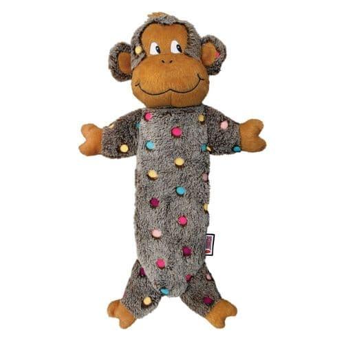 KONG Low Stuff Speckles Monkey Large