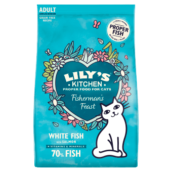 Lily's Kitchen Cat Food: Adult Fabulous Fish 800g