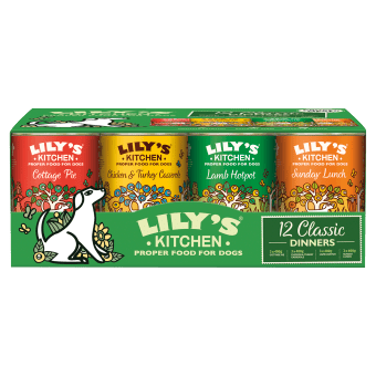 Lily's Kitchen Wet Dog Food: Classic MultiPack 12x400g