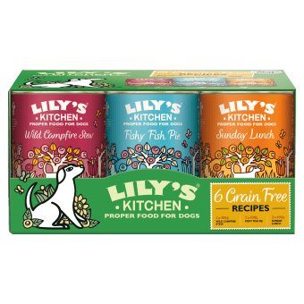 Lily's Kitchen Wet Dog Food: Grain Free MultiPack 6x400g