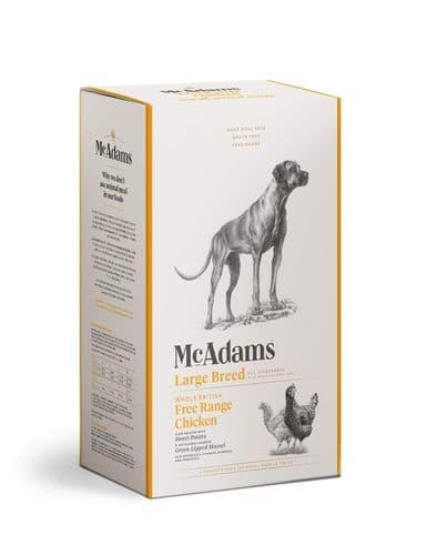 McAdams Dog Food: Adult Large Breed Free Range Chicken